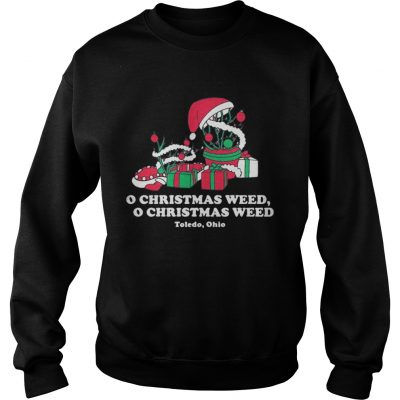 Sweatshirt Toledo Christmas Weed Inspires