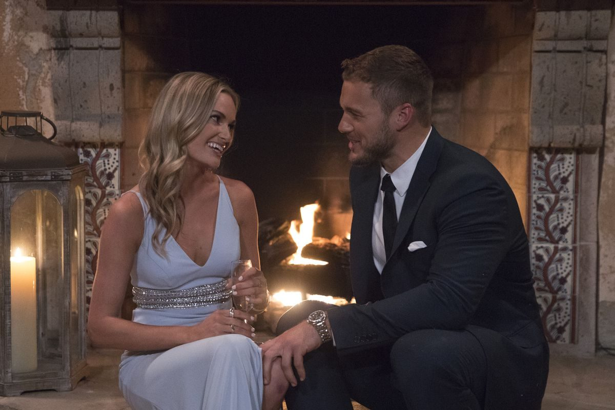 Colton Underwood, the star of this season's The Bachelor, and one of his suitors during the premiere episode