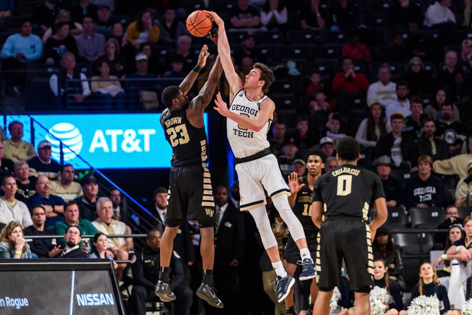 Georgia Tech's efforts defending the 3-point arc has led the Yellow Jackets to rank fourth nationally in defensive 3-point field-goal percentage