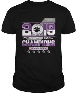 Guys 2019 college football National champions Clemson Tigers shirt