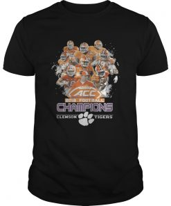 Guys ACC 2018 football champions Clemson Tigers shirt