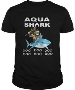 Guys Aquaman Shark doo doo doo shirt