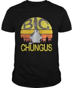 Guys Big Chungus meme vintage shirt