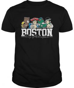 Guys Boston City Of Champions Shirt