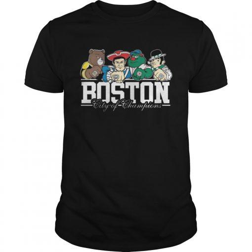 Guys Boston City Of Champions Shirt