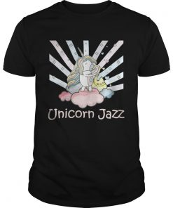 Guys Cute Unicorn Jazz Colorful TShirt