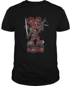 Guys Dead mouse Deadpool Mickey Mouse shirt