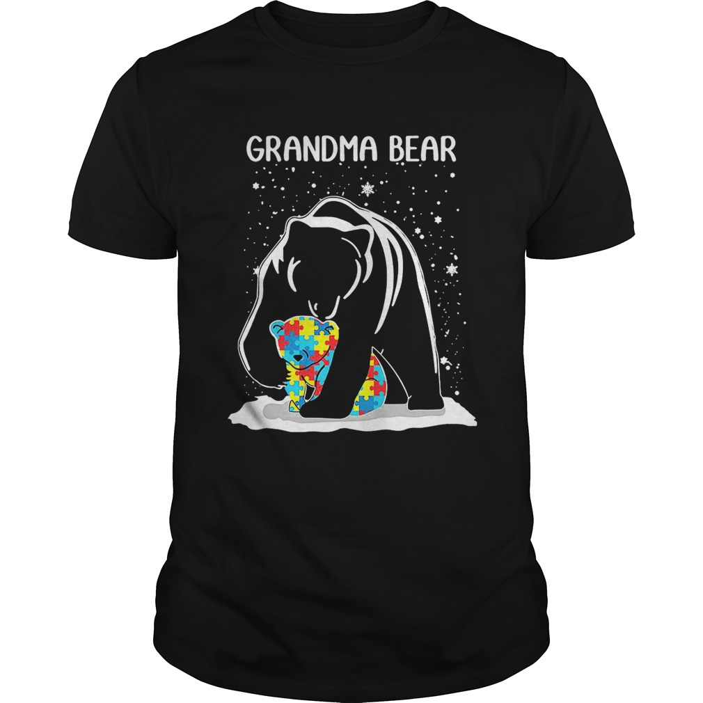 e787b0fda Grandma Bear Autism shirt - Kingteeshop
