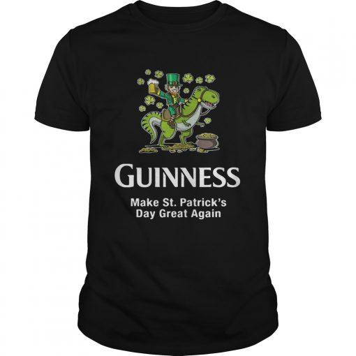 Guys Guinness make St. Patrick's Day great again shirt