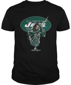 Guys Jetsman Aquaman And Jets Football Team TShirt