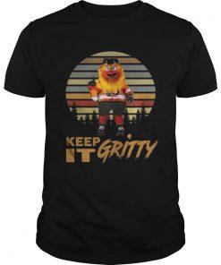 Guys Keep It Gritty Flyers Mascot Vintage Shirt