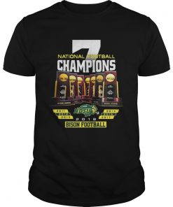 Guys National Football Champions NDSU North Dakota State Bison shirt