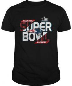 Guys New England Patriots champions super bowl Liii 2019 Shirt