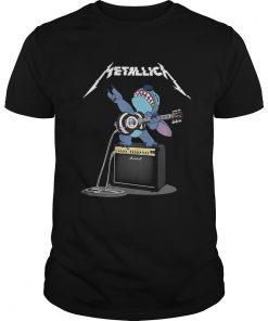 Guys Official Stitch Metallica shirt