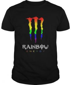 Guys Rainbow energy LGBT shirt