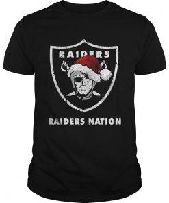 Guys Santa Oakland Raiders Nation Christmas ugly sweater