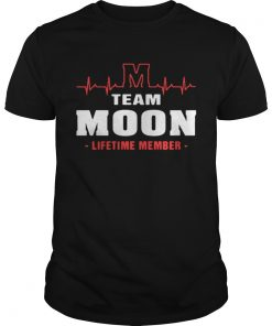 Guys Team Moom lifetime member shirt