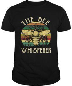 Guys The bee whisperer retro shirt
