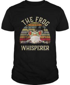 Guys The frog Whisperer vintage shirt