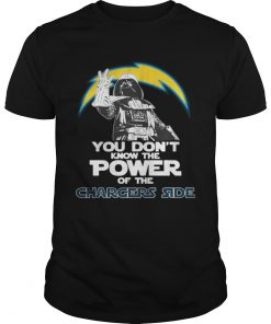 Guys You Dont Know The Power Of The Chargers Side Football TShirt