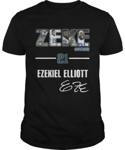 Guys Zeke Dallas Cowboys 21 Ezekiel Elliott shirt