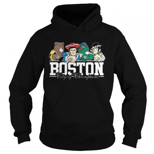 Hoodie Boston City Of Champions Shirt