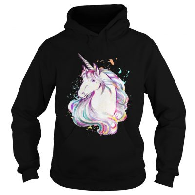 Hoodie Colorful Unicorn Rave Lover Funny Rainbow TShirt