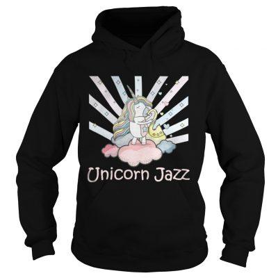Hoodie Cute Unicorn Jazz Colorful TShirt