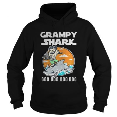 Hoodie Grumpy Shark Doo Doo Doo Doo shirt