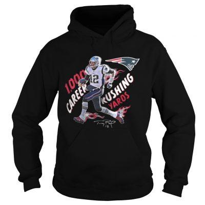 Hoodie TomBrady 1 000 Career Rushing Yards Shirt
