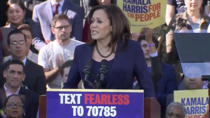 Kamala Harris officially launches 2020 presidential campaign