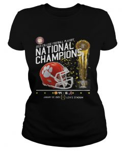 Ladies Tee 2019 College football playoff national champions 44 16 shirt