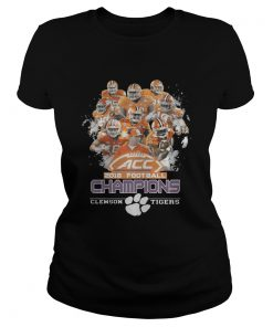 Ladies Tee ACC 2018 football champions Clemson Tigers shirt