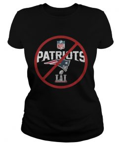 Ladies Tee Anti NewEnglandPatriots Not My Super Bowl Champs Shirt