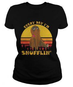 Ladies Tee Everyday Im Snufflin Shirt
