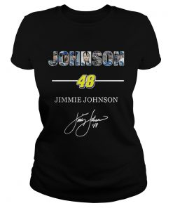 Ladies Tee Johnson 48 jimmie johnson shirt