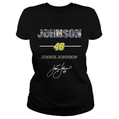 Ladies Tee Johnson 48 jimmie johnson shirt