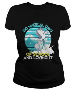 Ladies Tee Magical Days Of School And Loving It Shirt