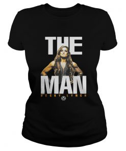 Ladies Tee Mineral Wash The Man Becky Lynch Shirt