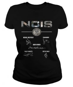 Ladies Tee NCIS Michael Weatherly Sean Murray shirt