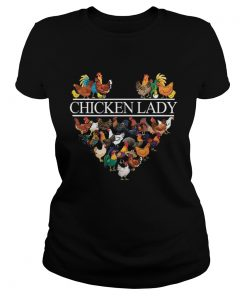 Ladies Tee Official Chicken lady shirt