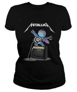 Ladies Tee Official Stitch Metallica shirt