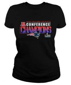 Ladies Tee Patriots Afc Championship 2018 Shirt