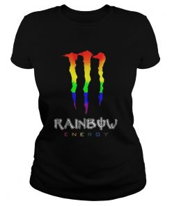 Ladies Tee Rainbow energy LGBT shirt