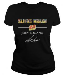 Ladies Tee Sliced Bread 22 Joey Logano shirt