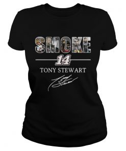 Ladies Tee Smoke 14 Tony Stewart shirt