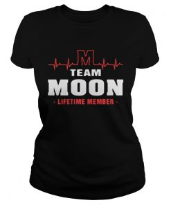 Ladies Tee Team Moom lifetime member shirt