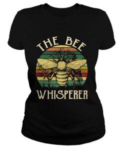 Ladies Tee The bee whisperer retro shirt