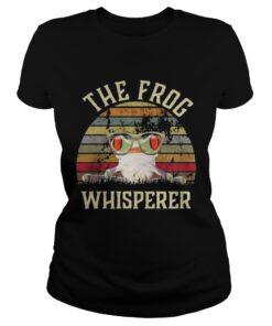 Ladies Tee The frog Whisperer vintage shirt
