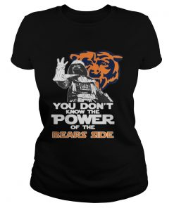 Ladies Tee You Dont Know The Power Of The Bears Side Football TShirt